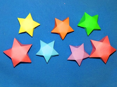 How to Make Paper Stars ( EASY )