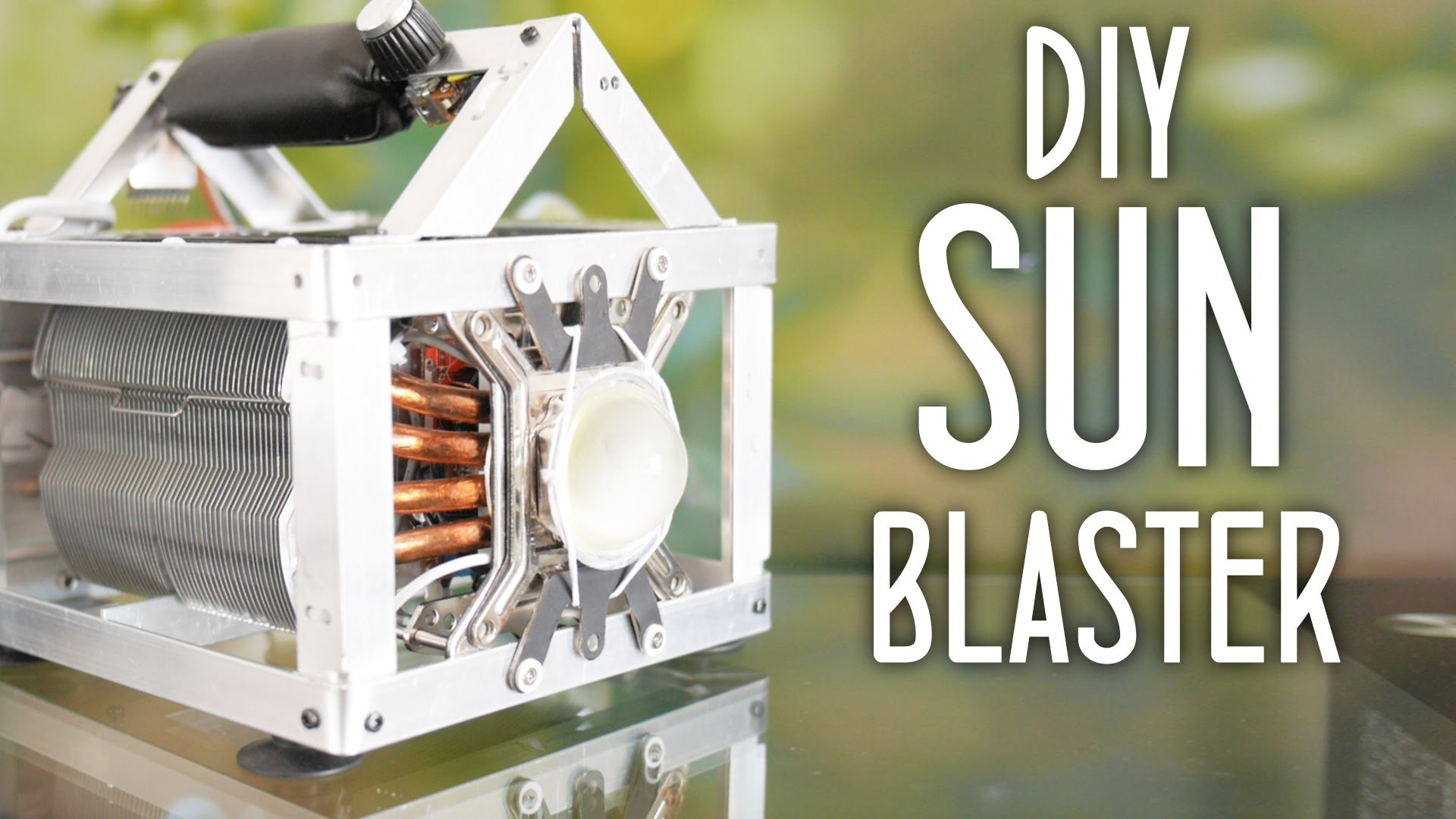 Make a 1000w equiv. LED flashlight - aka DIY Sun-Blaster!