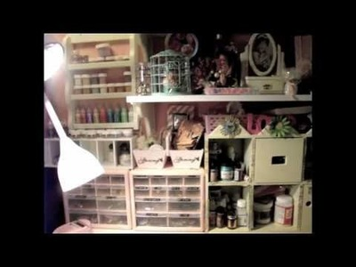 My Craft Room Shabby Chic Items & Lace Storage