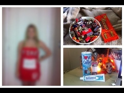My DIY Halloween Costume, Candy Haul & Filming [October 31 2013]
