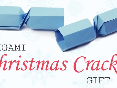 Origami Christmas Cracker Gift Box Tutorial