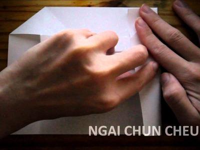 Origami Envelope Pocket L (Tutorial)