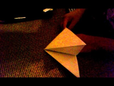 Origami hover craft