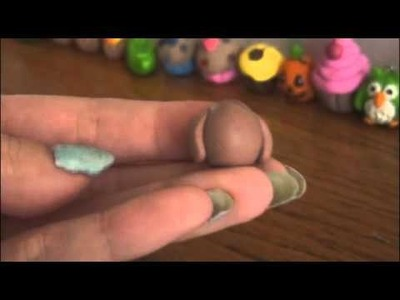 OWL - Polymer Clay Charm - How To - SoCraftastic