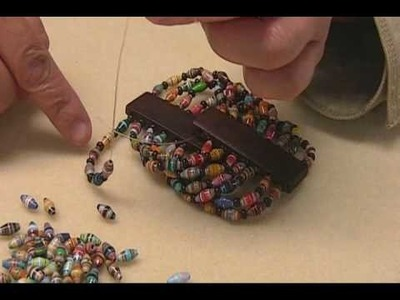 Part 2- Eight Strands Paper Beads.wmv