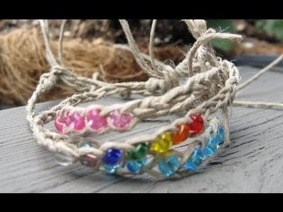 Wish Bracelet.  Fun and Easy Jewelry Craft