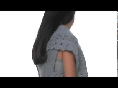 XCVI - Hug Shrug Crochet Cardigan SKU:#8039941