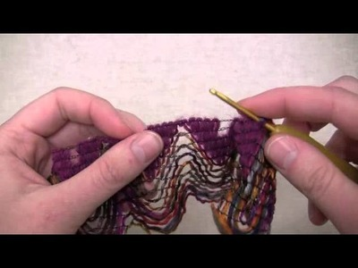 Bewitch Scarf - Crochet Version