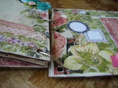 Bikas Scrapbook Word Album - last part