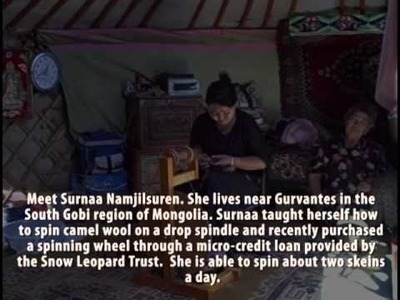 Crafting Handmade Artwork in Mongolia