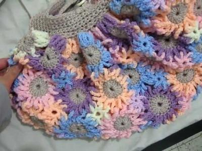 Crochet Flower Purses 9
