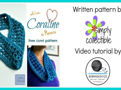 Crochet Morocco Cowl Tutorial - Easy