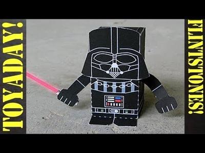 Darth Vader Starwars - Fun Paper Toy DIY!