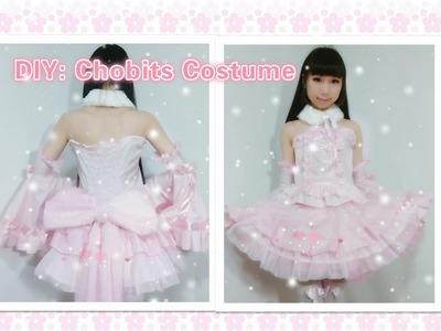 DIY Anime inspired Kawaii outfits-How to make Chobits Chii costume.dress