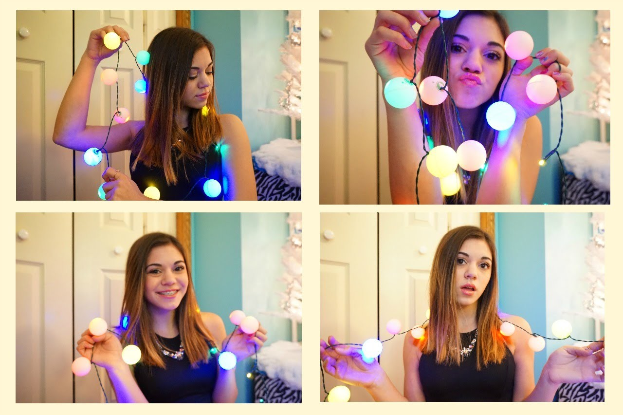 DIY Christmas Ball Lights