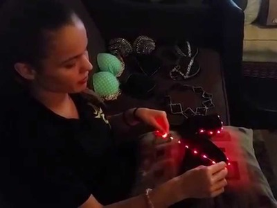 DIY LED Bra Tutorial