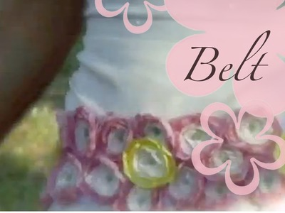 DIY: MeiIris' Lollipop Flowers Part 2 - Belt Tutorial