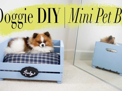 DIY Mini Dog. Cat Bed | Super EASY | ANNEORSHINE