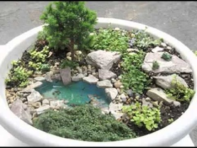 DIY Miniature garden decorating ideas