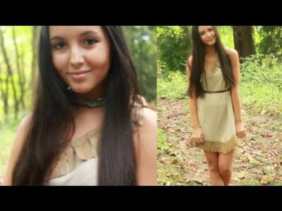 DIY Pocahontas Costume! No Sewing Needed!