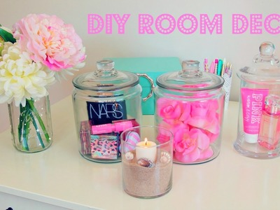 DIY Room Decor ~ Inexpensive Room Decor Ideas Using Jars