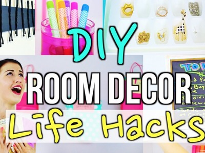 DIY Room Decor Life Hacks!