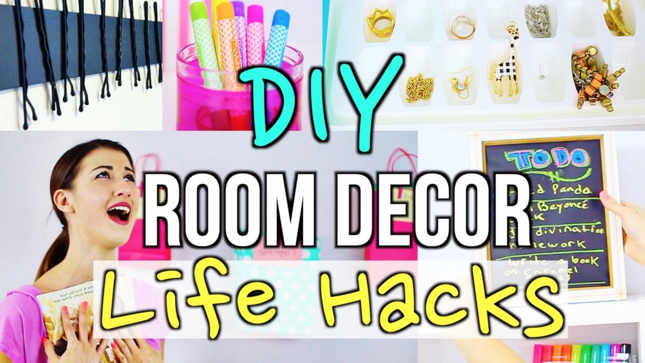DIY Room Decor Life Hacks!