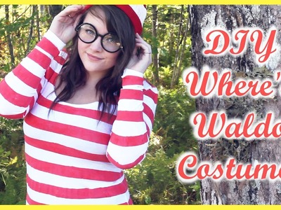 DIY: Where's Waldo Costume!