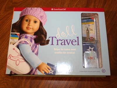 Doll Travel Craft Kit | American Girl Product | Show & Tell | Review AG Book Doll Travel