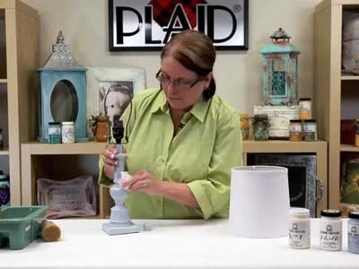 FolkArt Home Decor: Learn How To Create a Weathered Finish With Donna Dewberry