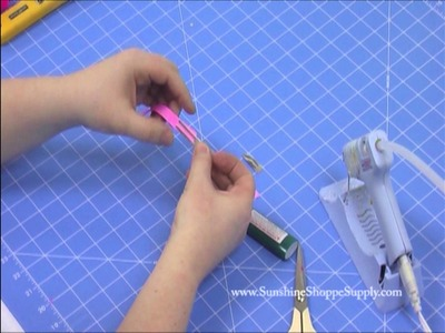 Hair Clip Lining - DIY How To Alligator Baby Snap Clips