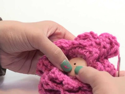 How To Crochet A Three Layered Flower Step By Step Turorial