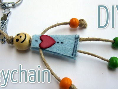 How to make a Key Chain - Ana | DIY Crafts.