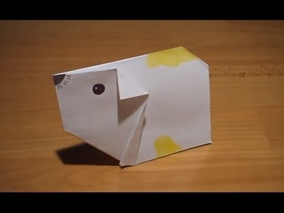 How To Make An Origami Hamster