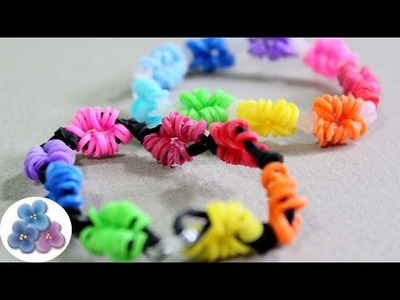 How to make Life Savers rubber band Bracelets tutorial New Rainbow Loom Bracelets DIY Kawaii Mathie