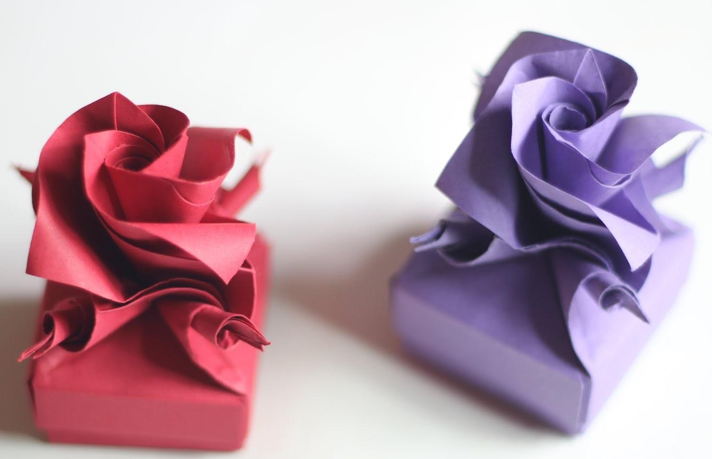How to make Origami Versailles box (Krystyna Burczyk)