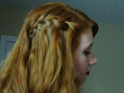 How to Waterfall Braid!