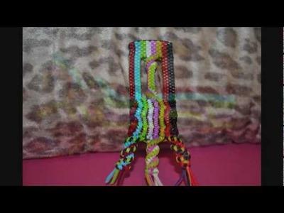 My lanyard.Craft lace update