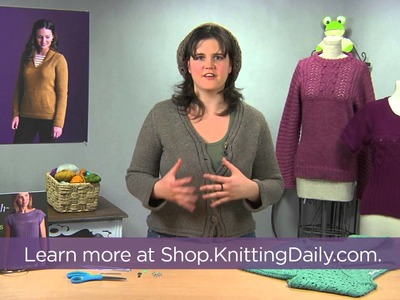 Preview Finish Free Knitting Techniques with Kristen TenDyke