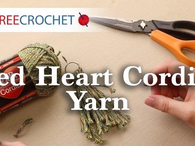 Red Heart Cordial Yarn + Free Tutorial