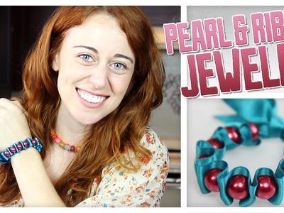 Ribbon & Pearl Jewelry - Do It, Gurl
