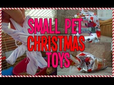 Small Pet Christmas Toys | RosieBunneh DIY