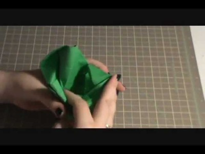 Speed Folding - Origami Rose