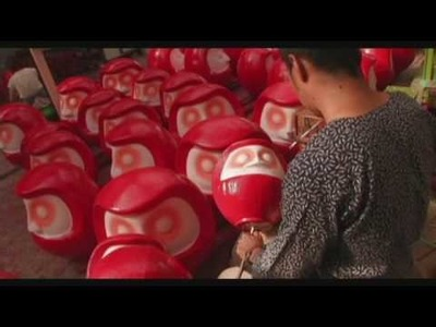 The Making of a Traditional Daruma Doll
