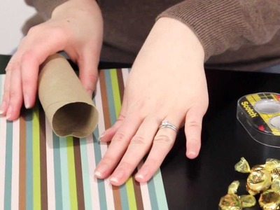 Toilet Paper Roll Birthday Present | Brilliantly Bland Crafts