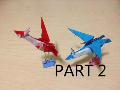 Tutorial - Origami Latios.Latias (Part 2)