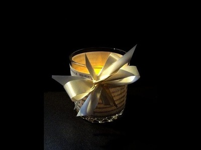VOTIVE CANDLE HOLDERS, Kitchen Tumbler Glass, How to diy, music sheet Place settings, home decor