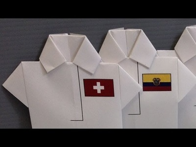 World Cup Group E & F Origami Shirts - Print at Home