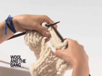 02 Ladder Stitch - How to Knit Tutorials by Wool and the Gang