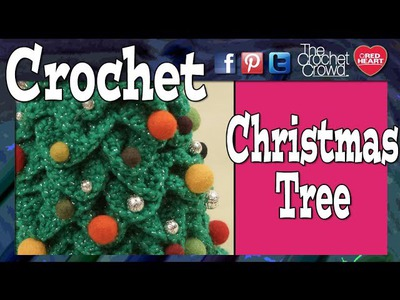 "16"" Mini Crochet Christmas Trees"